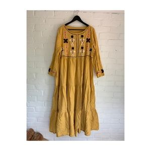 Dresses & Skirts - Vintage Linen Plus Size Dress